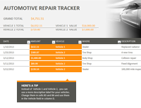 Car Repair Tracker