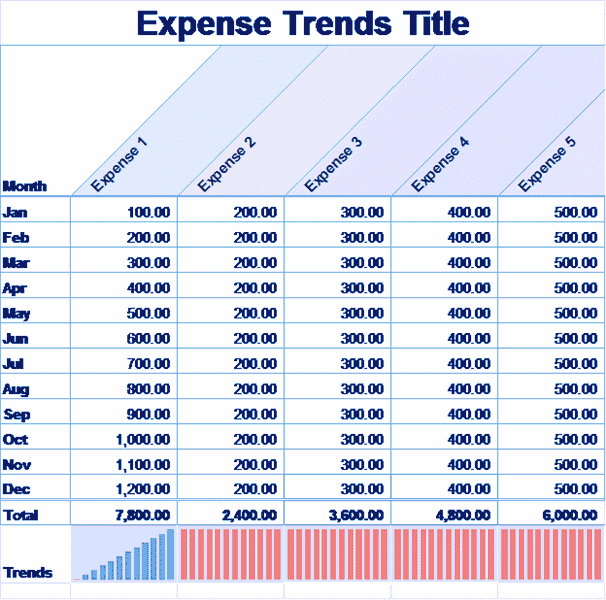 Excel-2013 Small Business Expense Sheet